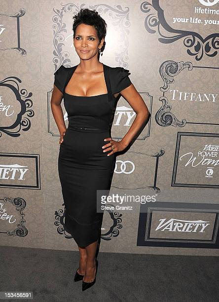 Halle Berry arrives at the Variety's Power Of Women Presented By Lifetime at the Beverly Wilshire Four Seasons Hotel on October 5 2012 in Beverly...