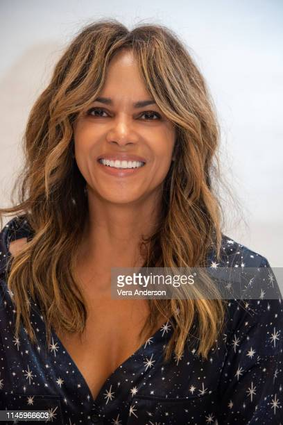 "Halle Berry at the ""John Wick: Chapter 3 - Parabellum"" Press Conference at the Four Seasons Hotel on April 28, 2019 in New York City."