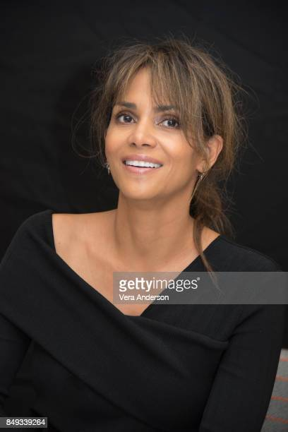 Halle Berry at the 'Kingsman The Golden Circle' Press Conference at the Ham Yard Hotel on September 18 2017 in London England