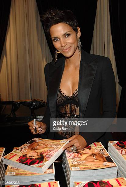 Halle Berry at the Ralph Lauren celebration of Fashion's Night Out at Ralph Lauren Mansion on September 10, 2010 in New York City.