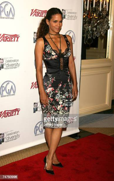 Halle Berry at the Regent Beverly Wilshire Hotel in Beverly Hills California