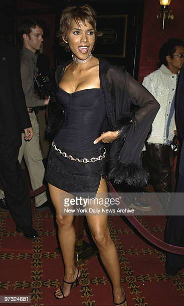 Halle Berry at the Special screening of the movie Swordfish held at the Ziegfeld Theater