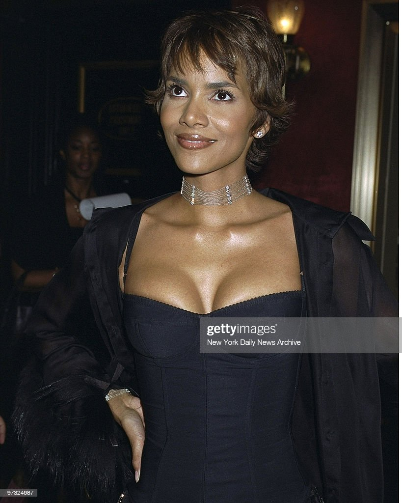 "Halle Berry at the Special screening of the movie "" Swordfis : News Photo"