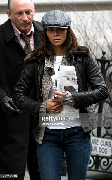 Halle Berry at the Upper West Side in New York City New York