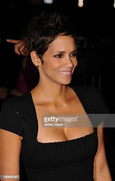 Halle Berry attends AFI Fest 2010 Conversations With Halle Berry at Grauman's Chinese Theatre on November 9 2010 in Hollywood California