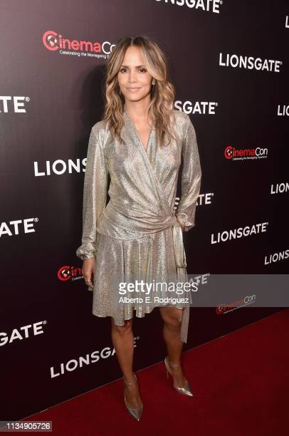 "Halle Berry attends CinemaCon 2019 Lionsgate Invites You to An Exclusive Presentation and Screening of ""Long Shot"" at The Colosseum at Caesars Palace..."