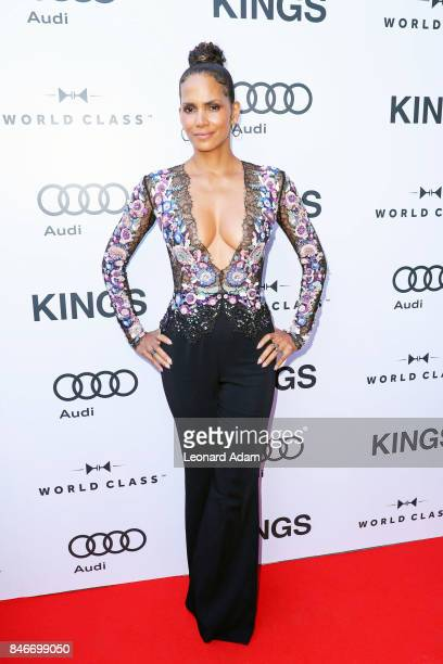 Halle Berry attends 'Kings' premiere party hosted by Diageo World Class Canada and Audi at Bisha Hotel Residences in Toronto Canada