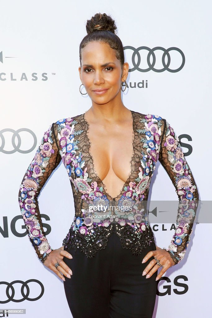 Halle Berry attends 'Kings' premiere party hosted by Diageo World Class Canada and Audi at Bisha Hotel & Residences in Toronto, Canada.
