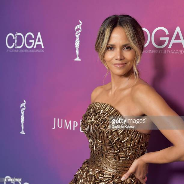 Halle Berry attends The 21st CDGA at The Beverly Hilton Hotel on February 19 2019 in Beverly Hills California