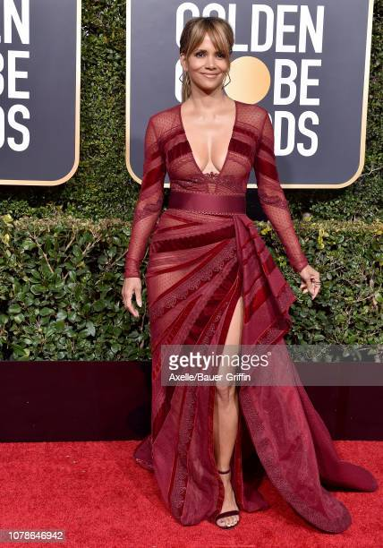 Halle Berry attends the 76th Annual Golden Globe Awards at The Beverly Hilton Hotel on January 6 2019 in Beverly Hills California