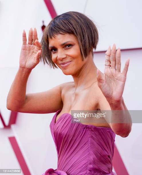 Halle Berry attends the 93rd Annual Academy Awards at Union Station on April 25, 2021 in Los Angeles, California.