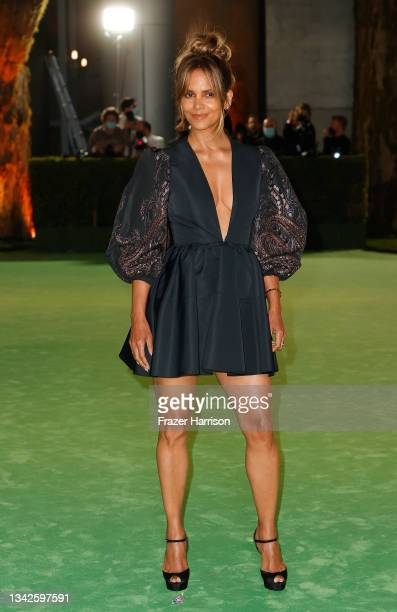 Halle Berry attends The Academy Museum of Motion Pictures Opening Gala at The Academy Museum of Motion Pictures on September 25, 2021 in Los Angeles,...