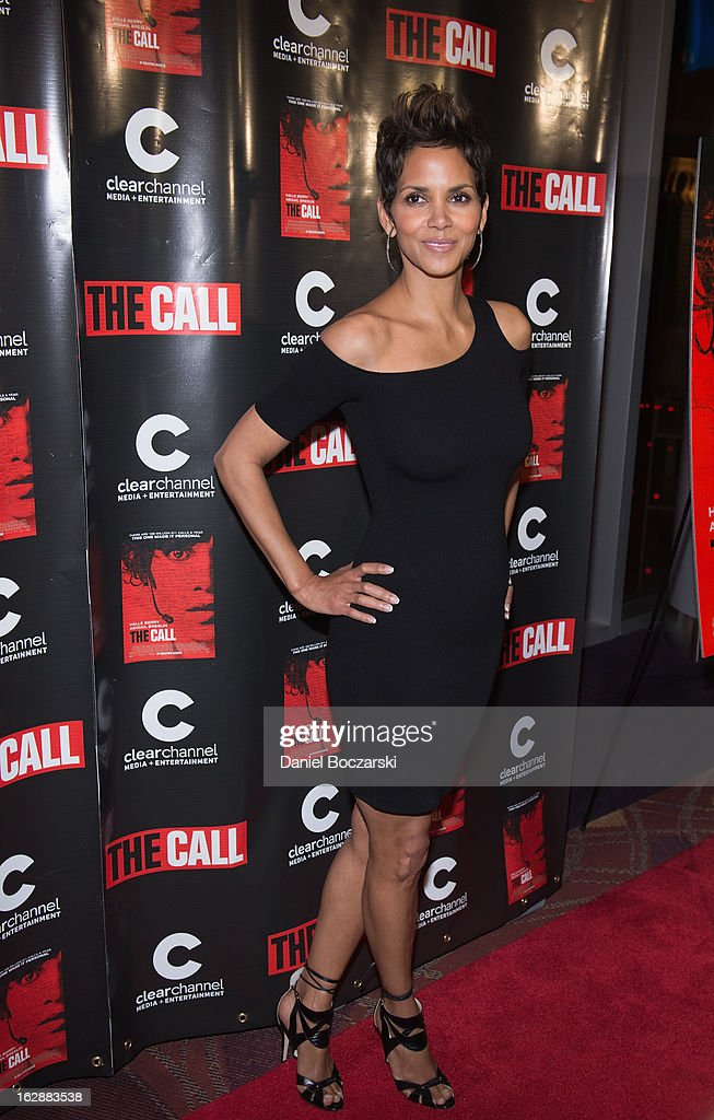 Halle Berry attends 'The Call' premiere at Showplace Icon Theater on February 28, 2013 in Chicago, Illinois.