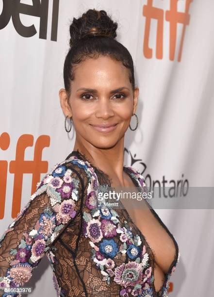 Halle Berry attends the 'Kings' premiere during the 2017 Toronto International Film Festival at Roy Thomson Hall on September 13 2017 in Toronto...