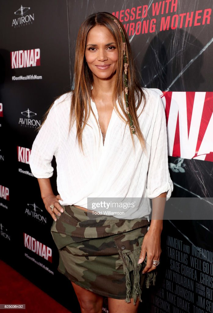 "Premiere Of Aviron Pictures' ""Kidnap"" - Red Carpet"