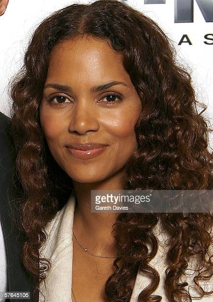 Halle Berry attends the press junket and photocall for XMen 3 ahead of the UK Premiere on Monday Dorchester hotel May 18 2006 in London England