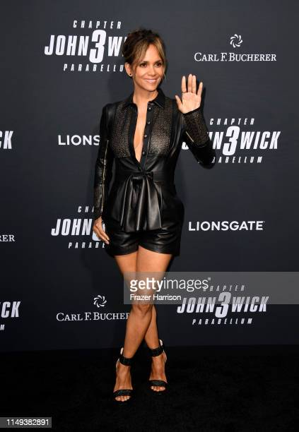 Halle Berry attends the special screening of Lionsgate's John Wick Chapter 3 Parabellum at TCL Chinese Theatre on May 15 2019 in Hollywood California