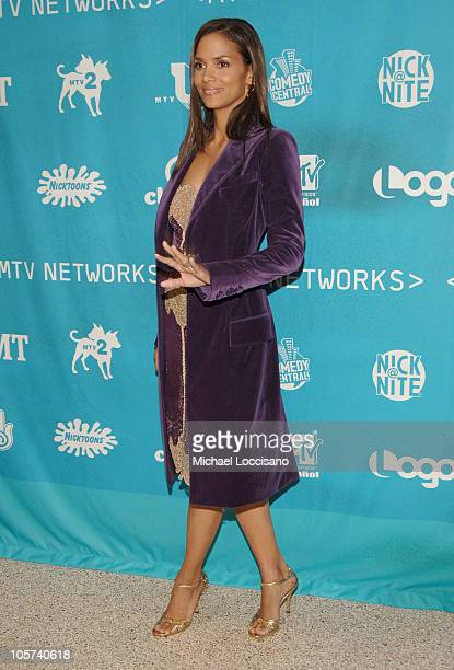 Halle Berry during 2005/2006 MTV Networks UpFront at The Theatre at Madison Square Garden in New York City New york United States