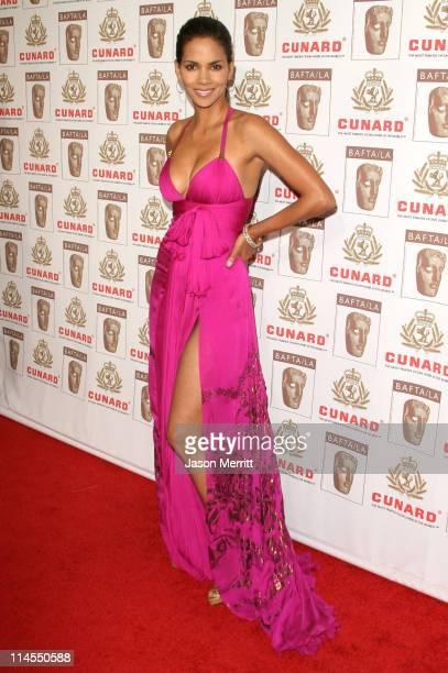Halle Berry during 2006 BAFTA/LA Cunard Britannia Awards Arrivals at Hyatt Regency Century Plaza Hotel in Los Angeles California United States