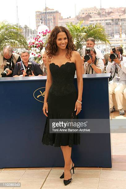 Halle Berry during 2006 Cannes Film Festival XMen 3 The Last Stand Photocall at Palais des Festival Terrace in Cannes France