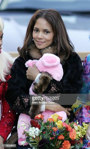 Halle Berry during 2006 Hasty Pudding Theatricals' Woman of the Year Halle Berry at Agassiz Theatre in Cambridge Massachusetts United States