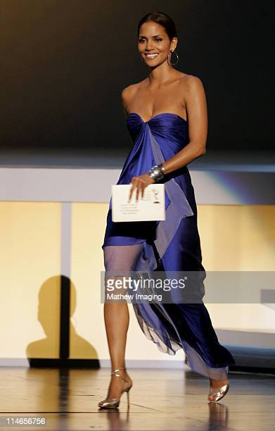 Halle Berry during 57th Annual Primetime Emmy Awards Show at The Shrine in Los Angeles California United States
