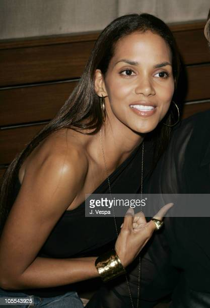 Halle Berry during Entertainment Weekly Magazine 3rd Annual Pre-Emmy Party - Inside at Cabana Club in Los Angeles, California, United States.