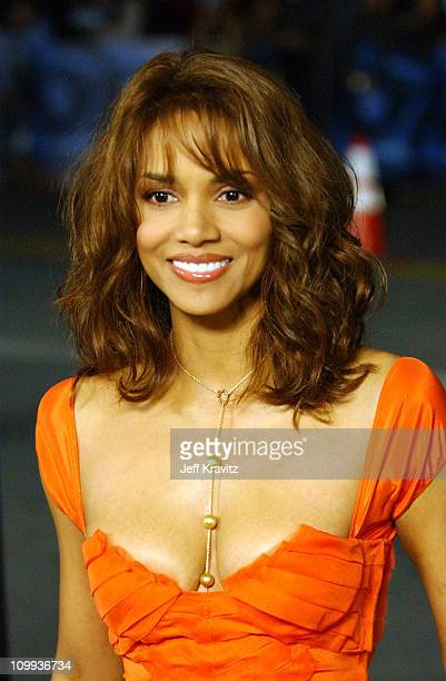 Halle Berry during Gothika World Premiere at Manns Village Theater in Los Angeles California United States