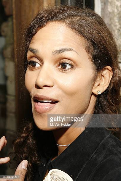 Halle Berry during Hennessy Cognac Hosts an Exclusive Tasting at Café Fuego November 14 2006 at Cafe Fuego in New York City New York United States
