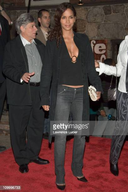 Halle Berry during Hennessy Cognac Hosts Tasting At Cafe Fuego November 14 2006 at Cafe Fuego in New York City New York United States