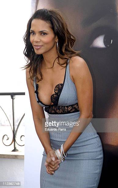 Halle Berry during Perfect Stranger Madrid Photocall at Me Hotel in Madrid Spain