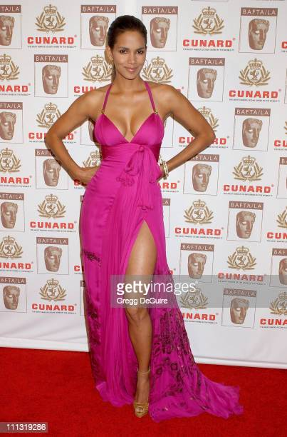 Halle Berry during The 2006 BAFTA/LA Cunard Britannia Awards Arrivals at Hyatt Regency Century Plaza Hotel in Los Angeles California United States