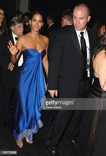 Halle Berry during The 57th Annual Emmy Awards Governors Ball at Shrine Auditorium in Los Angeles California United States