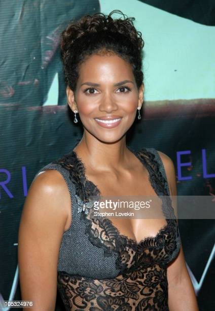 """Halle Berry during Warner Bros. Consumer Products and Henri Bendel Host Purr-fect """"Catwoman"""" at Henri Bendel in New York City, New York, United..."""