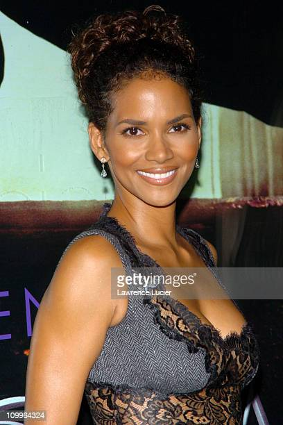 Halle Berry during Warner Bros. Consumer Products and Henri Bendel Host Purr-fect Catwoman at Henri Bendel in New York City, New York, United States.