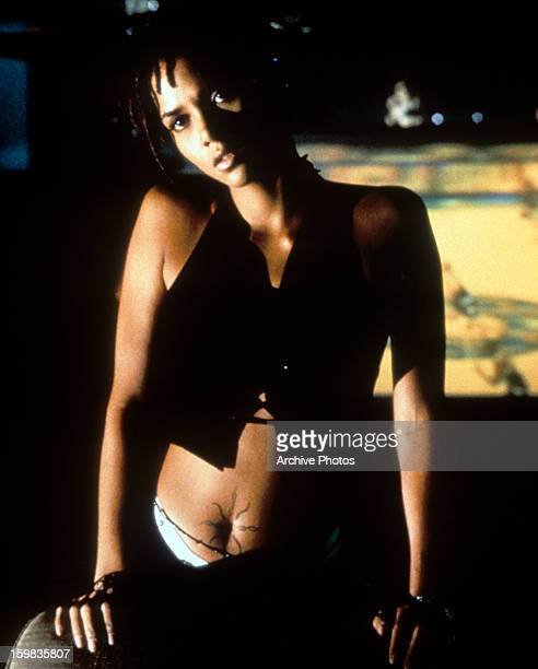 Halle Berry in a scene from the film 'Bulworth' 1998