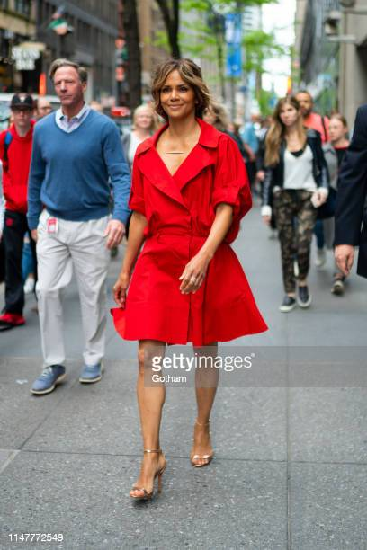 Halle Berry is seen in Midtown on May 08, 2019 in New York City.