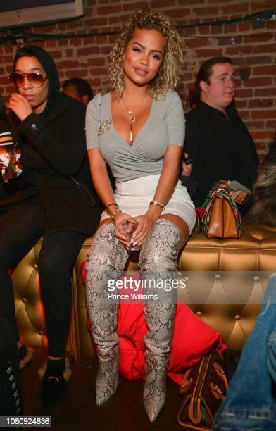 Halle Calhoun attends A Craft Syndicate Music Collaboration Unveiling Event at Opera Atlanta on December 10 2018 in Atlanta Georgia