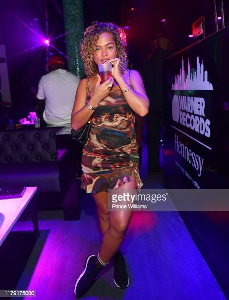 Halle Calhoun attends Warner Nights Presents BET Hip Hop Awards Edition at Traffik on October 4 2019 in Atlanta Georgia