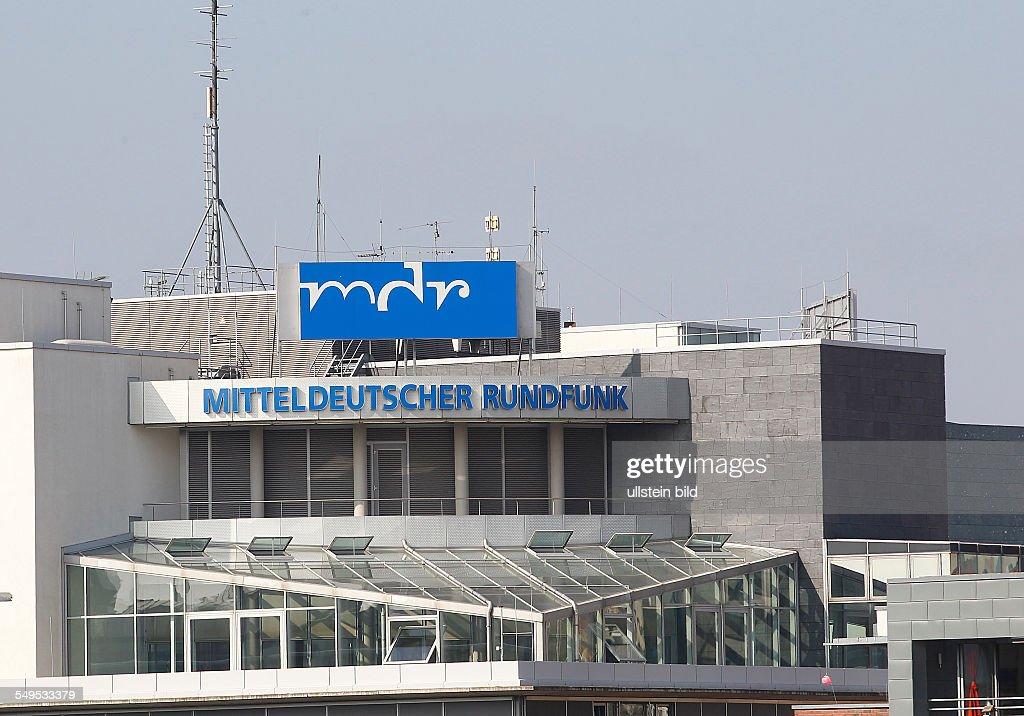 Halle Saale, MDR Hörfunkzentrale : News Photo
