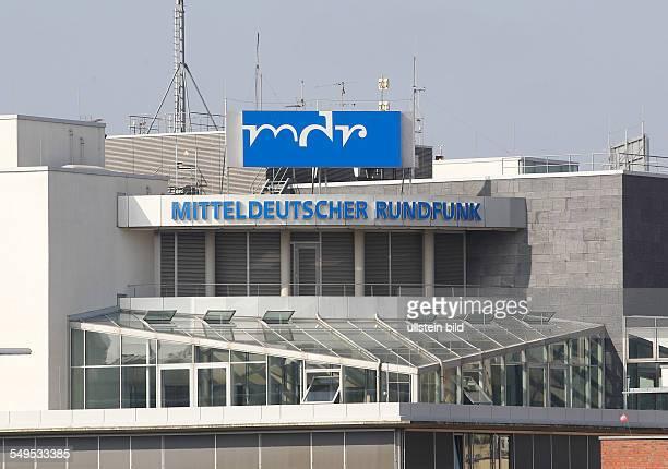 Halle Saale Stadtansichten Foto MDR Haus MDRHörfunkzentrale