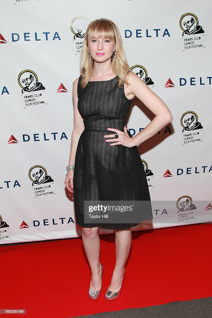 Halley Feiffer attends the Friars Club Fifth Annual Comedy Film Festival Opening Night at NYU Cantor Film Center on April 1, 2013 in New York City.