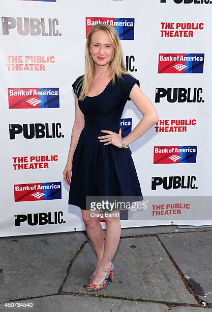 Halley Feiffer attends The Public Theater's opening night of 'Much Ado About Nothing' at Delacorte Theater on June 16 2014 in New York City