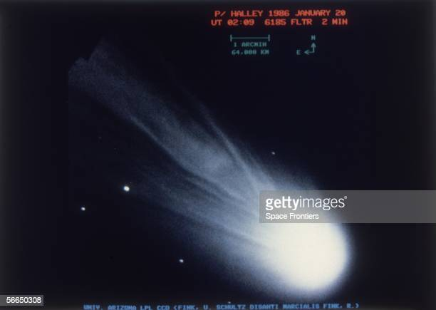 Halley's Comet, 20th January 1986.