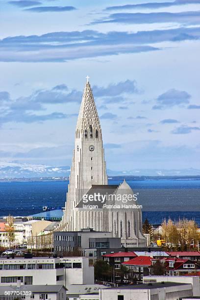 Hallgrimskirkja and surrounds, Reykjavik