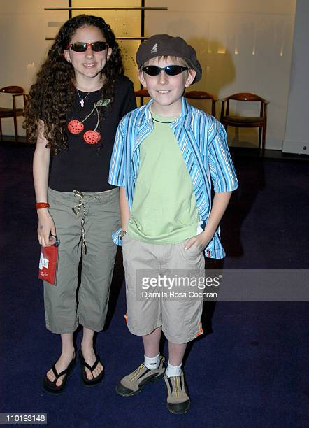 Hallie Kate Eisenberg and Erik Per Sullivan during RAY BAN at the 11th Annual Kids for Kids Celebrity Carnival to Benefit the Elizabeth Glaser...