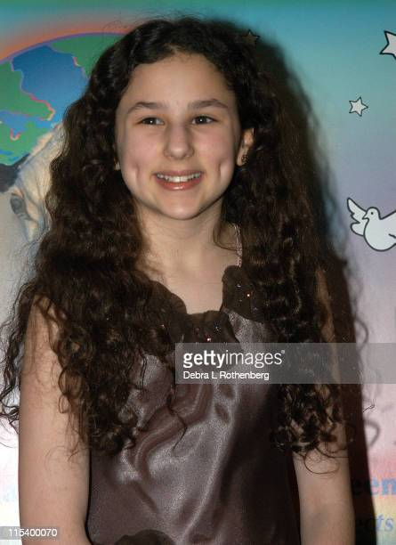 Hallie Kate Eisenberg during Award Winning Filmmakers Present World Premiere Of New Documentary Peaceable Kingdom at Alice Tully Hall At Lincoln...
