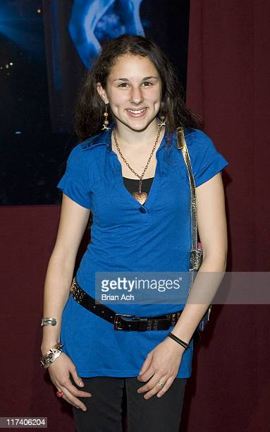 Hallie Kate Eisenberg during Cirque du Soleil's DELIRIUM at Tupelo Grill in New York City New York United States