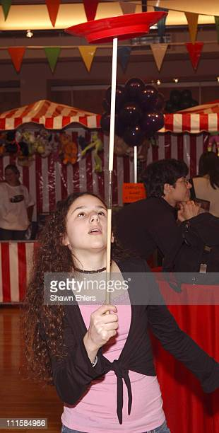 Hallie Kate Eisenberg during Fourth Annual Children's Day Artrageous to Benefit Edwin Gould Services for Children and Families February 27 2005 at...