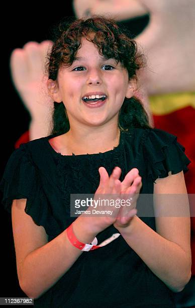 Hallie Kate Eisenberg during The Grrreat Tony the Tiger Awards at Hudson Theater in New York City New York United States